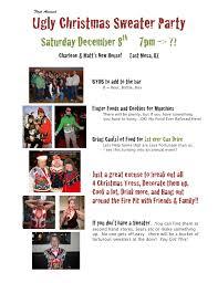 ugly christmas sweater party 2012 u2013 bower motorsports media