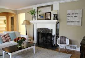 awesome country paint colors for living room using brown color