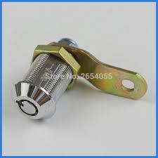 cabinet keyed cam lock 5 pcs 27mm hex nut fixed round key cam lock glass case cabinet lock