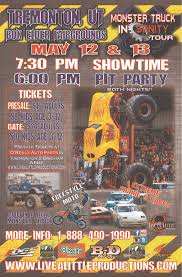 monster truck show times monsters u2013 tremonton ut u2013 may 12th u0026 13th u2013 live a little productions
