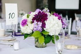 purple centerpieces purple flowers low centerpieces dahlia centerpieces minneapolis