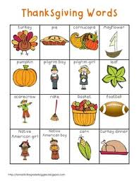 thanksgiving words thanksgiving words writing centers and