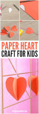 3d paper heart craft jars 3d paper and in a jar