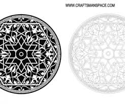 islamic ornament ai svg eps vector free