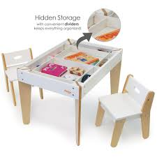 Play Table With Storage by Buy The Pkolino Modern Toddler Table And Chairs White Pkfftcmdwh