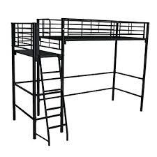 lit mezzanine noir avec bureau lit mezzanine noir avec bureau alexy lit mezzanine 1 place noir
