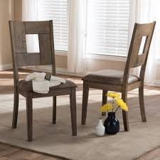Grey And Yellow Chair Baxton Studio Gillian Gray Wood Dining Chairs Set Of 2 2pc 7089