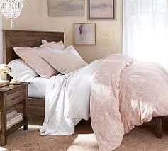 Bed With Headboard Beds Headboards Pottery Barn