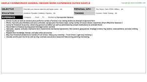 Material Handler Job Description For Resume by Awesome Farm And Ranch Management Resume Ideas Guide To The Macy