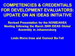 Core Qualifications List Evaluation Competencies Better Evaluation