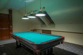 light over pool table distance between pool tables and lights home guides sf gate