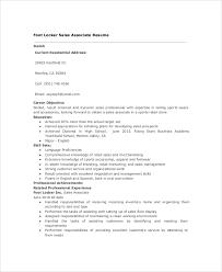 Footlocker Resume Sample Sales Resume 9 Examples In Pdf Word