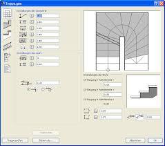 halbgewendelte treppe konstruieren archicad forum thema anzeigen bug in treppenmacher