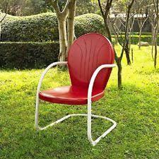 Vintage Patio Furniture Metal by Metal Lawn Chair Ebay