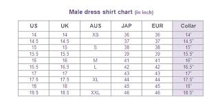 male dress size conversion page glamwearballroom com