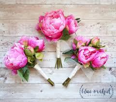 Peonies Bouquet Best 25 Peony Bridesmaid Bouquet Ideas On Pinterest White
