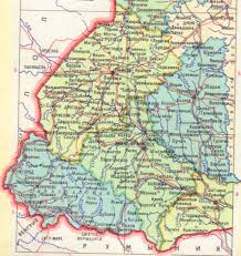 Map Of Germany And Austria by Halychyna Galicia Gacsorszag Galizien Galicja Homeland Page