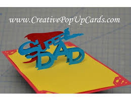 father u0027s day super dad pop up card tutorial youtube
