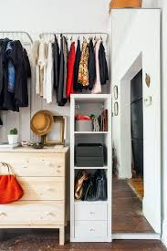 real life solutions for apartments with no closets garment racks
