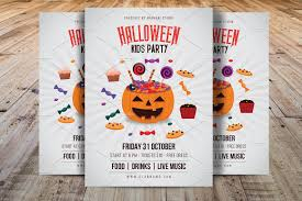 7 kid u0027s party flyer designs free editable psd ai vector eps