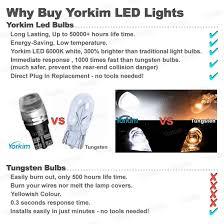 Led Light Bulbs Vs Energy Saving by Amazon Com 194 Led Light Bulb Yorkim T10 Wedge High Power 1w