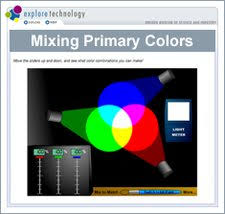 mixing primary colors science netlinks