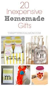 home made gifts 20 inexpensive homemade gift ideas
