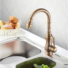 mitigeur cuisine bronze antique robinet de la cuisine inspirée finition en bronze