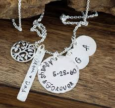 Personalized Family Necklace Personalized Necklaces Annie Reh Designs
