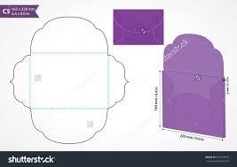 die cut c5 vector envelope template standard c5 size envelope to