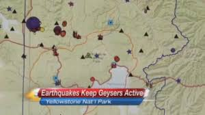Yellowstone Map Usa by Yellowstone Warning Earthquake Swarm At Supervolcano Sparks U0027end