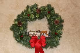 christmas wreath the enchanted manor