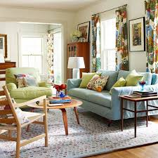 Modern Chic Living Room Ideas by Chic And Colorful Spring Living Room Decorations