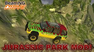 Rock Garden Tour by Jurassic Park Tour Vehicle Beamic Park Mod Ate Paradise Rock