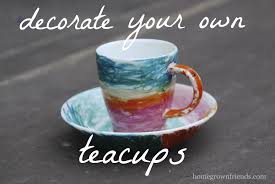 decorate your own tea cup decorate your own teacups teacup and decorating