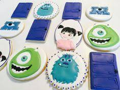 monsters cookies disney dreamworks u0026 pixar cakes cookies