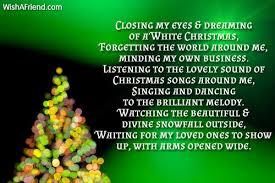 enjoying the christmas season christmas poem