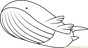 Pokemon Coloring Pages Wailord | wailord pokemon coloring page free pokémon coloring pages