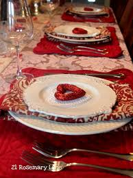 Valentine S Day Table Decor Pinterest by Valentine U0027s Day Table Setting Sew Your Own Place Mats And