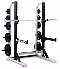 Half Rack Weight Bench