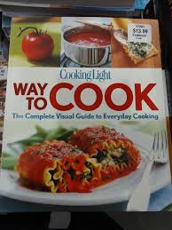 cooking light cook books