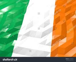 Flag Of Dublin Ireland Flag Ireland 3d Wallpaper Illustration National Stock Illustration