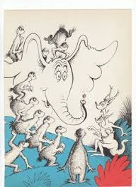 1950s dr seuss vintage print horton hears anemonereadscrafty