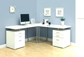 White L Shaped Desk White L Shaped Computer Desk Kgmcharters