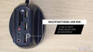 Small Charging Station by Vivo Charger Dock Usb 2 0 Hub Card Reader Audio Port Computer