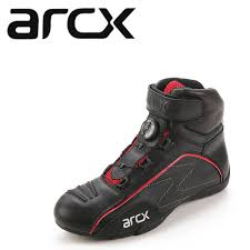 motorcycle boots and shoes arcx racing moto shoes motorcycle boots rotating buckle breathable