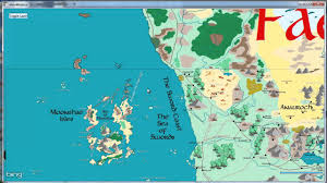 World Map Interactive by Forgotten Realms Atlas Tile Map Youtube