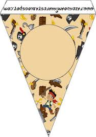jake land pirates party free printables