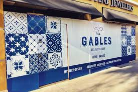 design guidelines the gables a seasonal all day restaurant goes into a prime santa monica slot