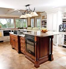 two level kitchen island designs two level kitchen island with stove and oven images ideas